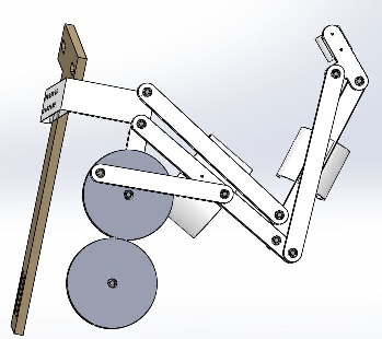 Overall Mechanism -- SolidWorks Design - Robot Mechanism